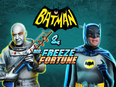 Batman & the Mr Freeze Fortune Slot Game by Ash Gaming