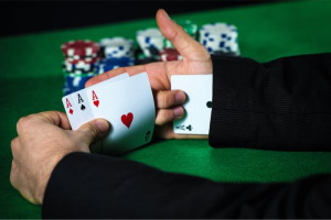 Actual Cheating in Blackjack Game