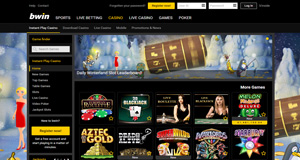 Bwin Casino homepage