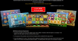 captain cook casino games