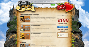 castle jackpot casino promotions