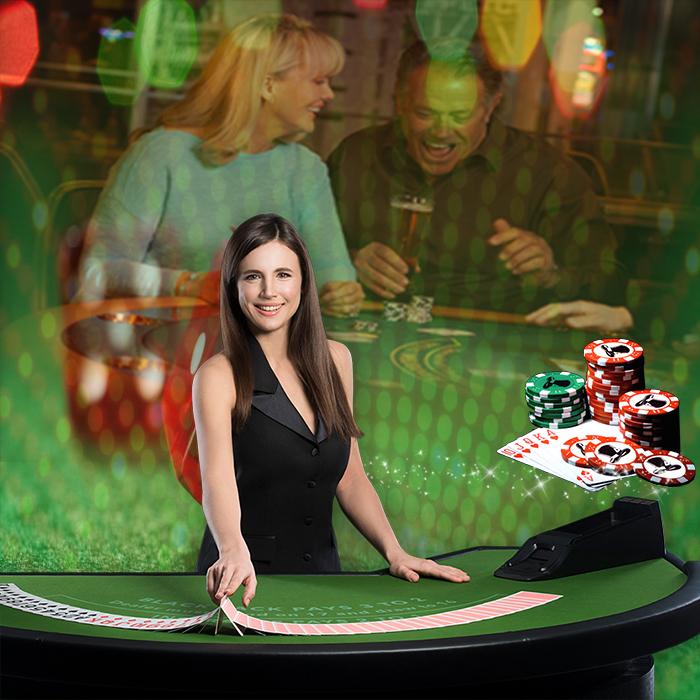 Casino Live Table Blackjack