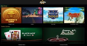Starspins Casino offers more than 70 slot games