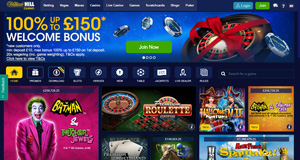 William Hill Casino homepage